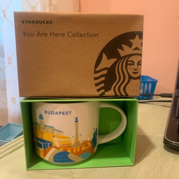 Starbucks Budapest You Are Here Series Mug ☕️